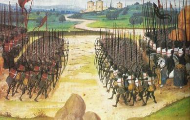 La bataille d'azincourt (1415). une autre victoire stratégique de l
