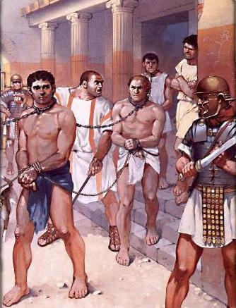 Rome Chrétienne et ses monuments - EUGENE DE LA GOURNERIE - 1867 Prisonniers2
